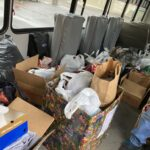 All the donations are now being sorted at Jacobetti Home for Veterans just in time for Christmas!