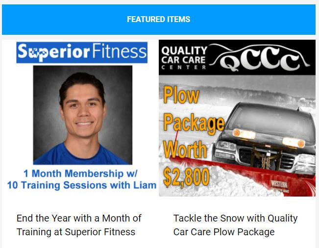Save on wellness and home improvement with items in this week's newsletter!
