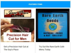 Save on men's haircuts, local food and more!