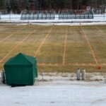 Ferguson Field in Grayling look much better this January than it most likely had in previous years!