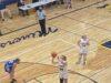 Negaunee's Morgan Carlson attempts a free throw.