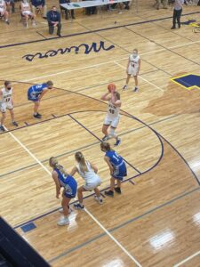 Negaunee's Alyssa Hill led the game with 28 points for the Miners.