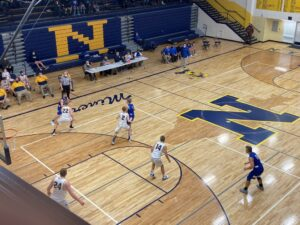 The Miners' played tough defense on Friday night, only giving up 36 points against Ishpeming.
