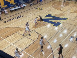 Negaunee's intense defense was on display, only holding the Hematites to 20 points.