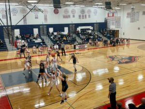Larissa Anderson shoots a 3-pointer for Negaunee in their win at Westwood.