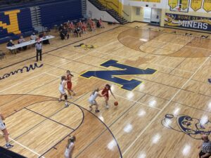 Negaunee played impressive defense on Tuesday night, only holding Marquette to 33 points.