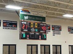 Final Score, Negaunee wins 43-21.