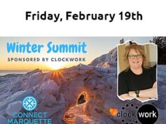 Connect Marquette 2021 Winter Summit - Speaker Nancy Lyons