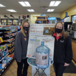 Stop by Crossroads MiniMart and Shell and fill out a form!
