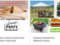 Get 2 Classic Lawry's Pasties and new camping gear from Wilderness Sports!