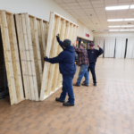 Getting start with the shed at the Westwood Mall