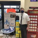 Shop Super One Foods Marquette and look for the blue bucket!