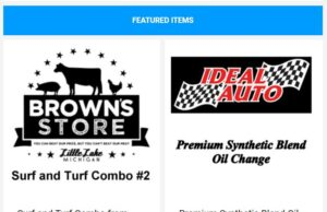 Save on a surf & turf combo from Brown's Store and more!