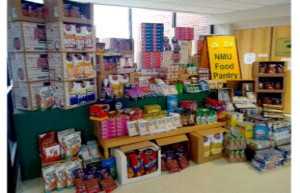 NMU Students' Unused Dining Dollars Benefit Food Pantry March 4, 2021