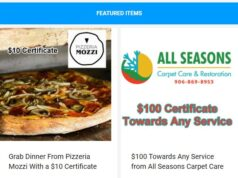 Pick up pizza and get home spring cleaning done with help from this week's newsletter!