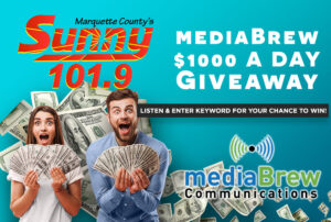 The mediaBrew $1000 A Day Cash Giveaway