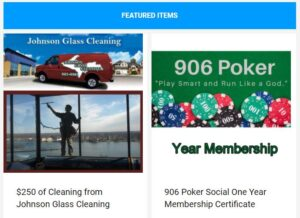 Save on exterior home cleaning, poker club membership, and more!