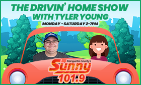 Listen to Tyler Young on the Drivin' Home Show Monday through Saturday