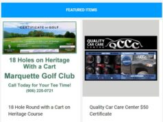 Go golfing or get your vehicle tuned up with these certificates!