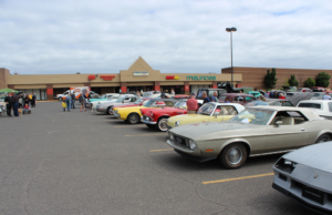 There was a wide variety of vehicles at the show.