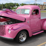 Pink Panther was even there with his awesome truck!