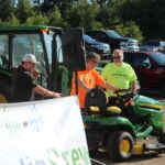 We had Cole from Northland Lawn, Sprort & Equipment explain all the great features on the x350 John Deere mower, as well as they other great products they offered.