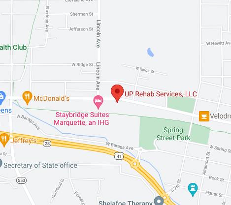 UP Rehab Google Maps