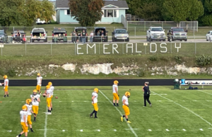The Miners take the field.