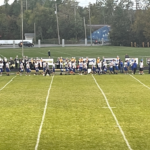 Ishpeming gets ready for the national anthem