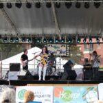 Laura Rain & The Caesars performing at Blues Fest
