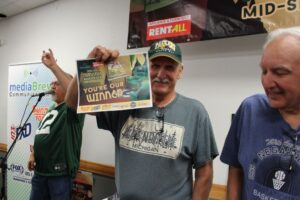 Congratulations to Robert Ellman for winning the Man Cave Makeover