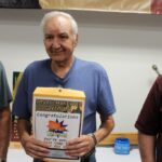John Basolo won a portable gas grill from Wilderness Sports
