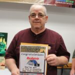 Mark Henson won a deluxe tent and sleeping bag from Dunham's