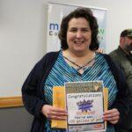Karla Bressette won the Kountry Korner Gas Card
