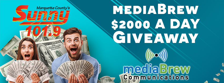 Enter to win up to $2000 A Day!