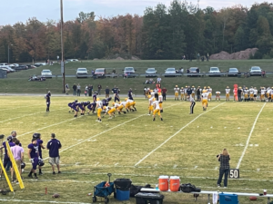 Negaunee's defense had a strong first half, and held the L'Anse Purple Hornets down for the majority of the game.